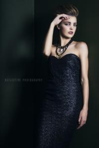 Bridgette Wansbury - Bride of Frankenstein Shoot - Jadie Professionals - Reflective Photography