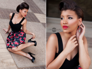 Caitlin Nero - Pin-up Shoot - Michelle Stapelberg Photography